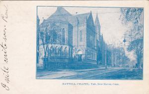 NEW HAVEN, Connecticut, PU-1907; Battell Chapel, Yale