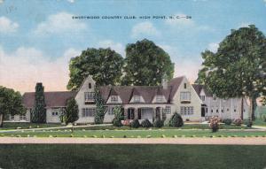 HIGH POINT, North Carolina, 1930-1940's; Emerywood County Club