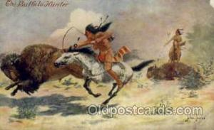 Artist John Innes, Western, Cowboy, Indian, Postcard Post Card unused