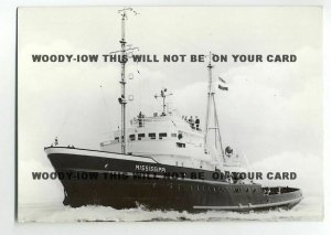 tu1993 - Dutch Smit Tug - Mississippi , built 1960 - postcard