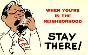 When you're in the neighborhood…