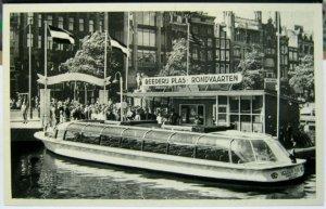 Netherlands Reederij Plas Damrak Amsterdam - unposted
