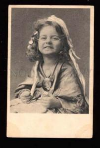 017490 Funny Girl in Glasses as Grandmother GRANNY old Photo