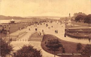 England Plymouth: The Hoe, coastal public space, animated, Sepiatone Series