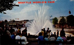 Washington Seattle World's Fair International Fountain