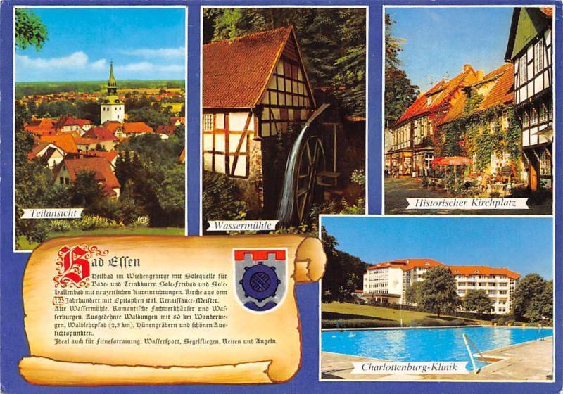 Bad Essen Historischer Kirchplatz Charlottenburg Klinik