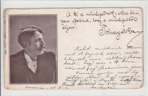Romania Transylvania 1898 Szatmar Temesvar correspondence Tolnay Aron signature
