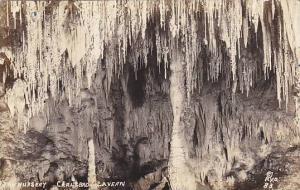 RP, The Nursery, Carlsbad Cavern, New Mexico, PU