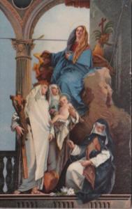 La Madonna in Trono e varie Sante Tiepolo Venezia