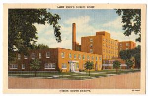 Saint John's Nurses Home, Huron SD