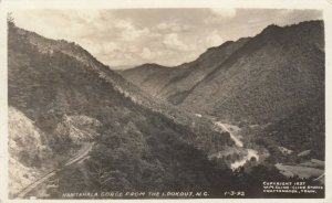 RP: NORTH CAROLINA, 1941; Nantahala Gorge from the Lookout