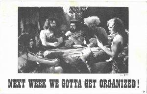 Next Week We Gotta Get Organized!  Mailed 1966 Air Mail Stamp