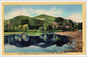 Bartlett & Kearsarge Mountains, Saco River. White Mountains NH