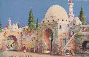 An Arab Mosque Charms Of The East Tucks Oilette Rare Postcard