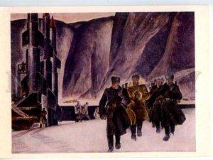 153589 USSR Border guard northern fjords ROCKETS by Pokhodayev