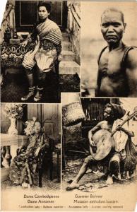 CPA CAMBODIA Dame Cambodgienne,Dame Annamite, (550459)