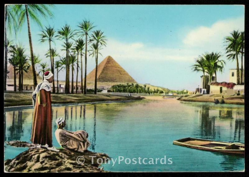 The Pyramids during Nile Flood