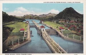 Pedro Miguel Locks, Panama Canal, Panama, 1930-40s