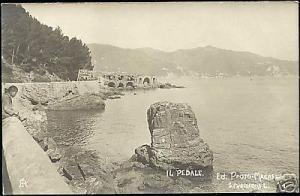 italy, Il Pedale, Panorama (1910s) RPPC