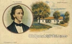 Fr. Chopin, Birth place, Wola, Poland Opera Postcard Postcards  Fr. Chopin, B...