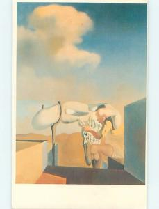 Unused Pre-1980 POSTCARD FROM THE SALVADOR DALI MUSEUM Cleveland Ohio OH ho9533