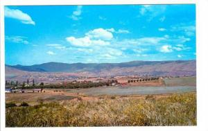 Town from East , VERNON , B.C. , Canada , 40-60s