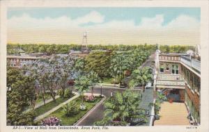 Florida Avon Park View Of The Mall From Jackaranda Curteich