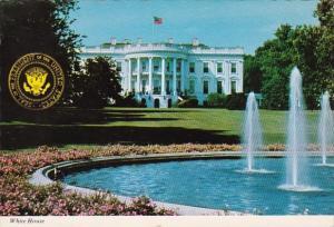 Washington D C The White House South Portico