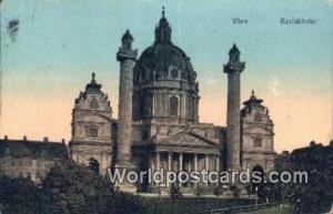Austria Karlskirche Wien