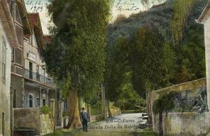 portugal, COLLARES, Estrada Bella da Rainha (1909)
