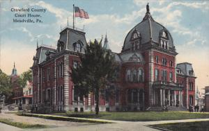 MEADVILLE, Pennsylvania, 1900-1910's; Crawford County, Court House