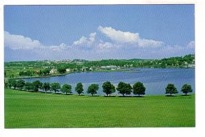Lunenburg Harbour and Golf Course, Lunenburg, Courtesy Canadian National Railway