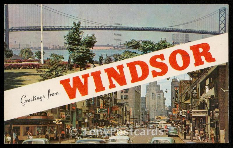 Greetings from Windsor