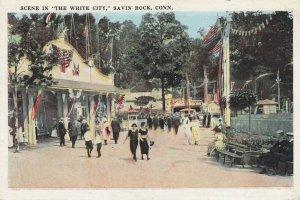 SAVIN ROCK , Connecticut , 1910s ; White City Amusement Park View