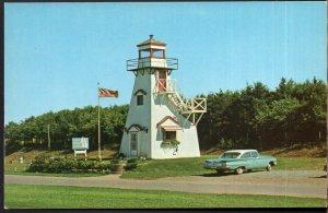 Prince Edward Island ALBANY Tourist Information Bureau Classic Car - Chrome