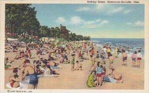 Ohio Geneva On The Lake Bathing Scene
