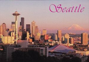 Washington Seattle his View Shows Seattles Skyline