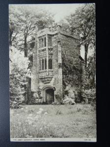 Dorset CERNE ABBAS The Abbey Gateway c1950's Postcard by Jarrold & Sons