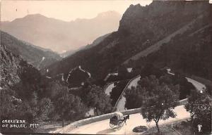 Spain Old Vintage Antique Post Card Carretera de Soller Unused
