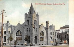 Jacksonville FL First Christian Church~Lots of Things Pointing to Heaven c1910