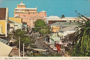Bahamas Nassau Bay Street