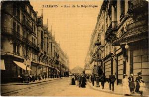 CPA ORLÉANS-Rue de la Republique (264790)