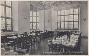 Ampleforth Preparatory School Childrens Canteen Hall Yorkshire Antique Postcard