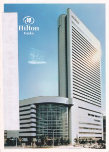 Hilton Hotel Osaka Japan Postcard