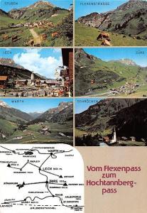 Vom Flexenpass zum Hochtannbergpass multiviews Stuben Zuers Schroecken Warth