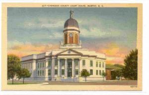 Cherokee County Court House, Murphy, North Carolina, PU-30-40s