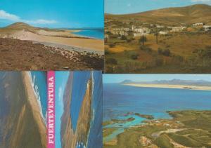 Fuerteventura 4x Mint Rare Postcard Collection