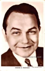 Edward G Robinson Movie Star Actor Actress Film Star Postcard, Old Vintage An...