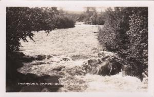 RP: BURKS FALLS, Ontario, Canada, 30-40s; Thompson's Rapids