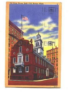 Orange Border Old State House Boston Massachusetts, Un Co, Hire the Handicape...